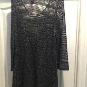 Misses/ladies open knit sweater